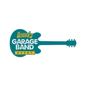 Image of Houska Garage Band Even Logo