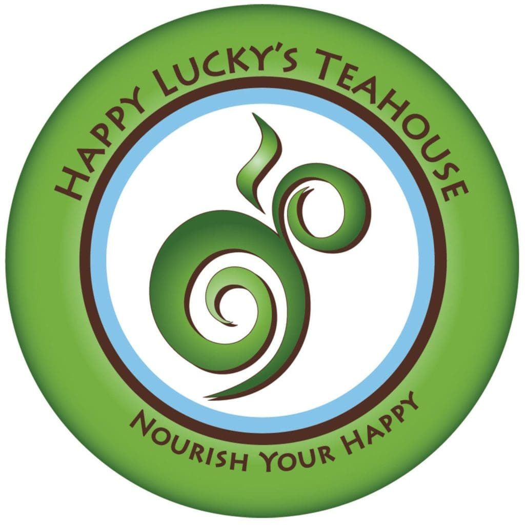 Image of Happy Lucky's Teahouse Logo