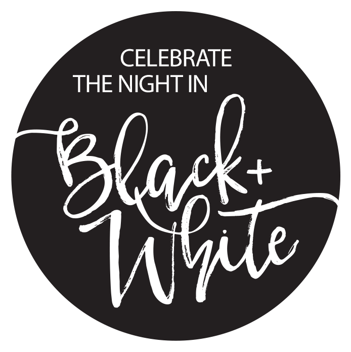 Image of Celebrate the night in black and white