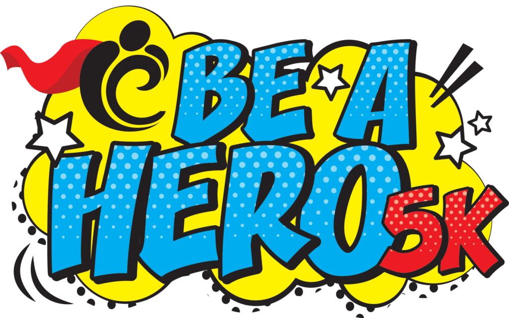 Image of Be a Hero 5k Logo