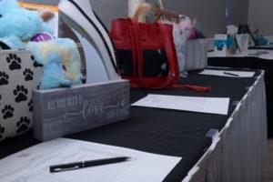 Image of raffle prizes