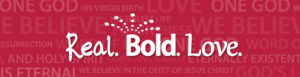 Imagen del logo del amor real y audaz
